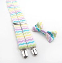 Easter Bow Tie & Suspenders pastel bow tie easter