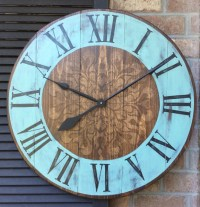 Large Wall Clock Wedding gift Oversized Wall Clock Unique