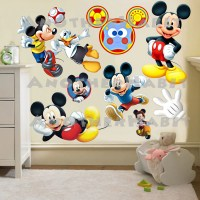 mickey mouse wall decor - 28 images - boy name wall decal ...