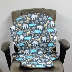 Graco Blossom High Chair Cover Replacement Wedding Covers For Sale Duodiner Pad Baby Accessory