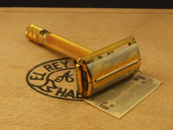 1946 Gillette Milord Tech Safety Razor With Thin