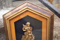 Turner Wall Art/ Shadowbox of Gold by UpcycledCottageDecor