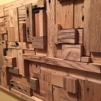 Reclaimed Wood Wall Art Very Unique rustic decor