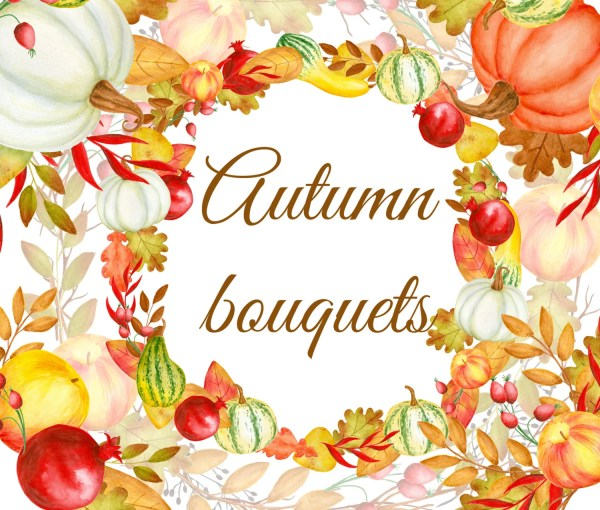 watercolor autumn bouquet fall