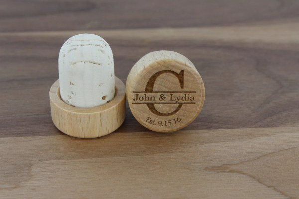 Personalized Wine Stoppers Customized Engraved Monogrammed