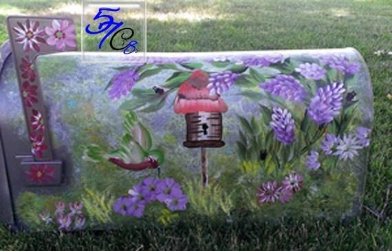 garden tool box mailbox rural