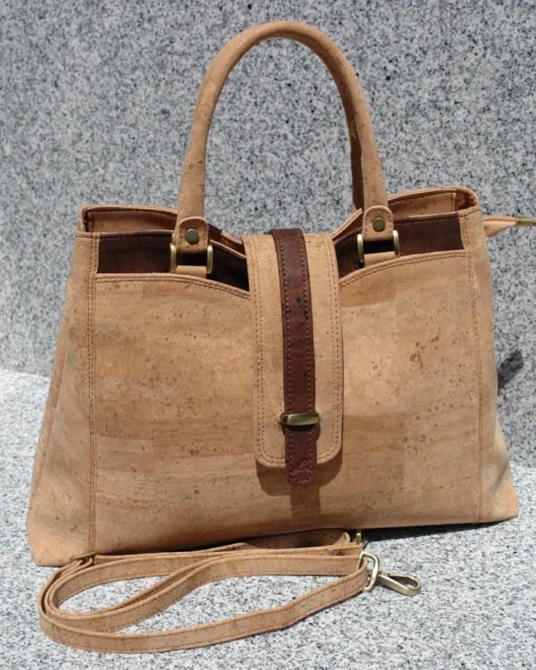 Cork Handbag Shoulder Bag Purse
