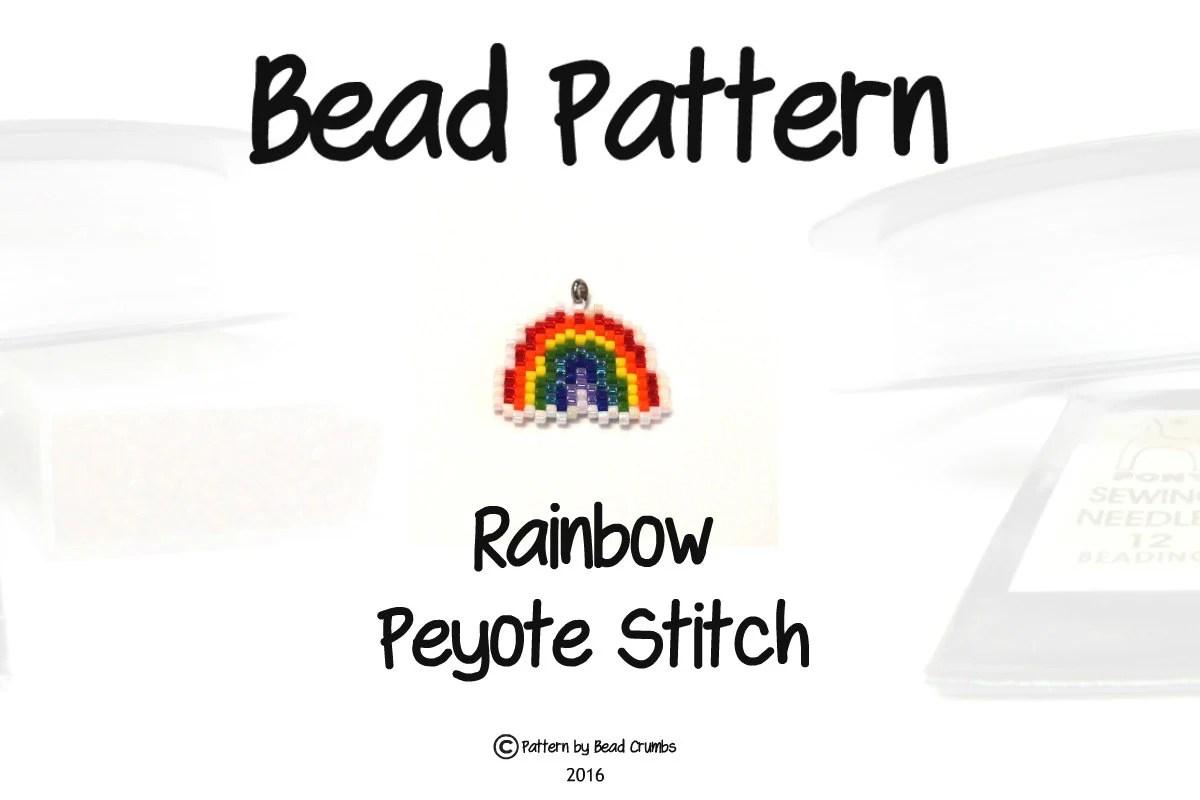 Mermaid Bead Weaving PATTERN for Seed Bead Earrings
