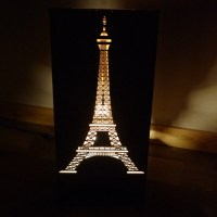 Items similar to Eiffel Tower Floor Lamp on Etsy