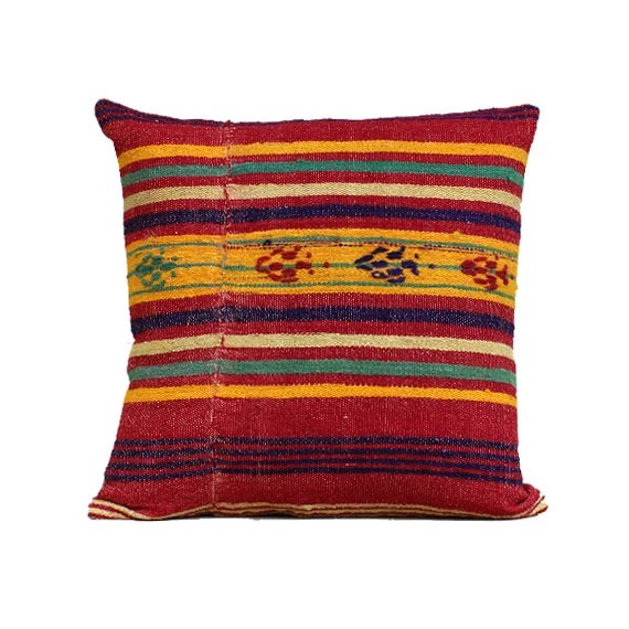 20x20 Southwest Pillow Southwestern Home Decor Kilim Pillow