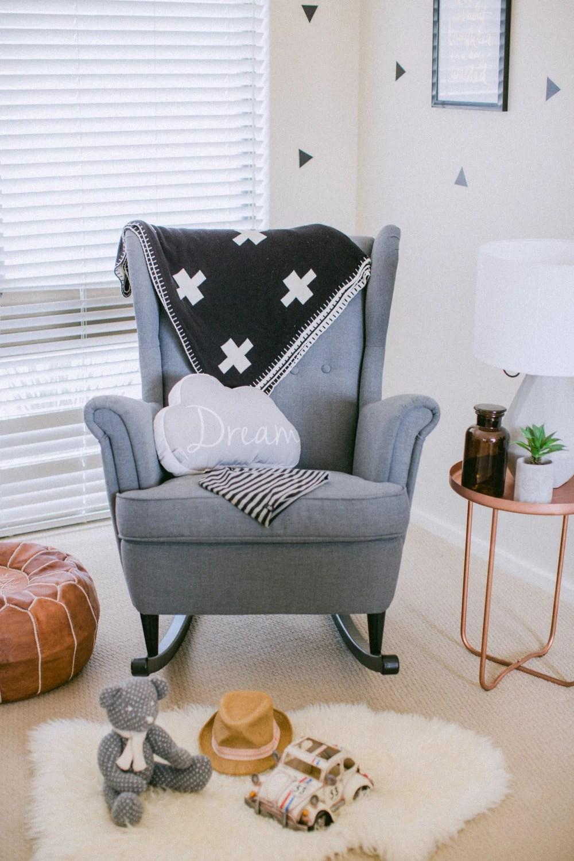 rocking nursing chair black covers wholesale conversion kit