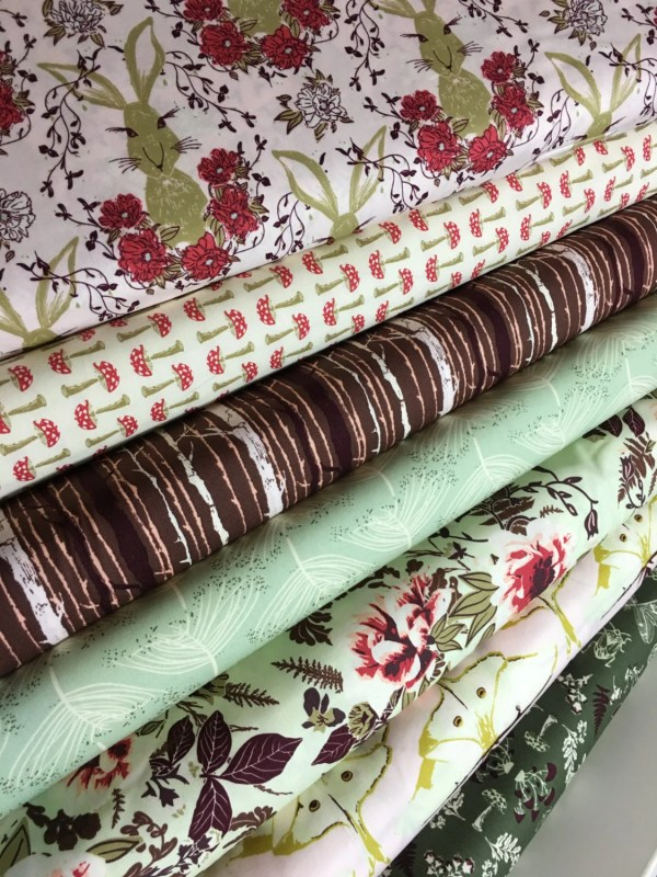 Forest Floor Fabric Bundle Of 7 Nature
