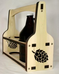 Growler Beer Growler Growler Holder Beer Caddy Wooden