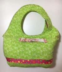 Hands Free Baby Bottle Holder Green by WobblyTots on Etsy