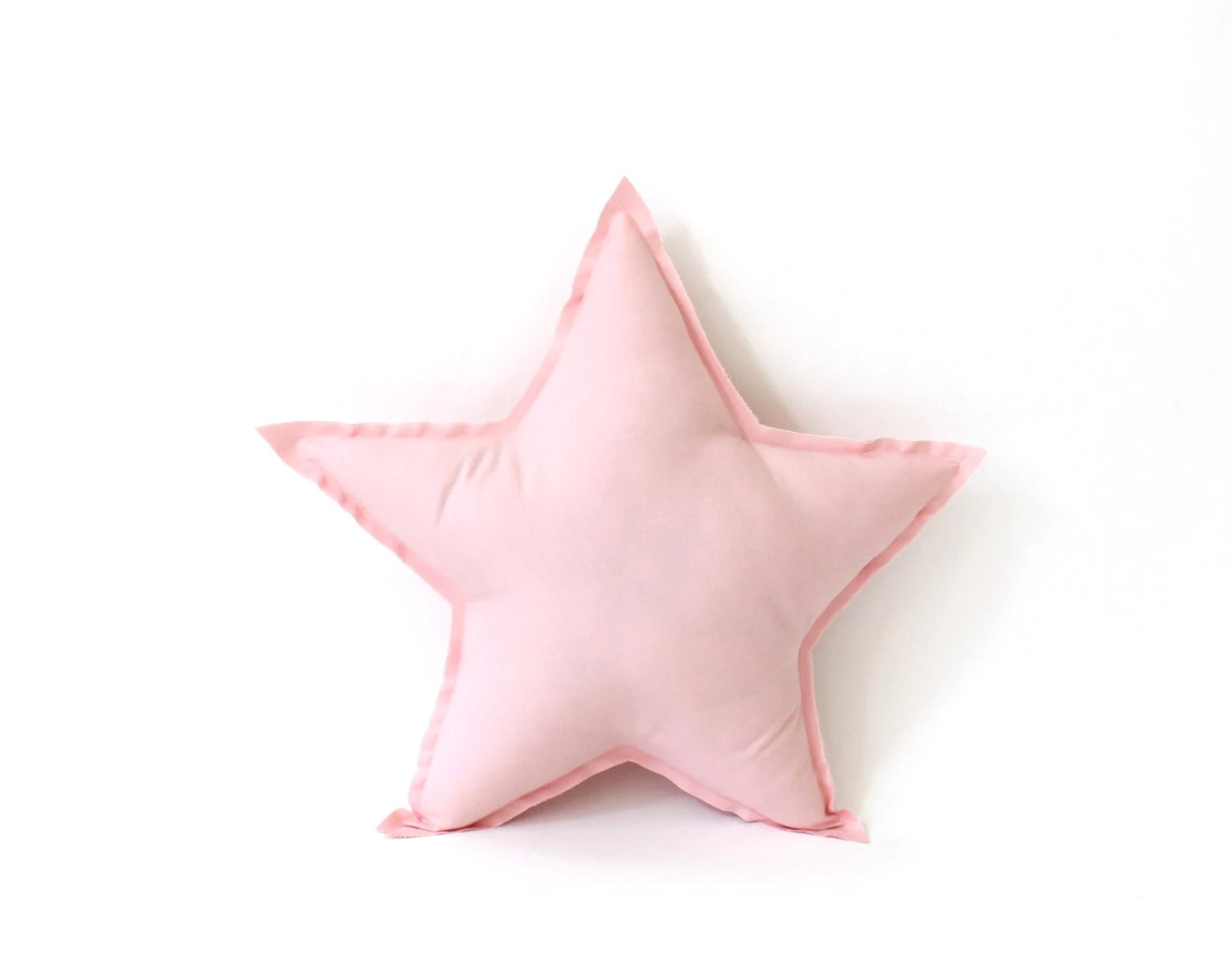 Star Pillow decorative star shaped pillow in pink soft