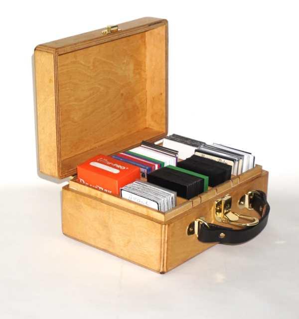 Magic Gathering Deck Box Mtg Kaijudo Carrying Case Fully