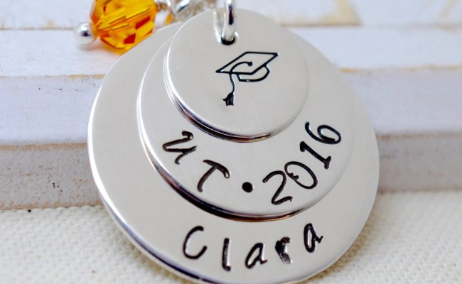 Personalized Graduation Gift Gift For Her Sterling Silver
