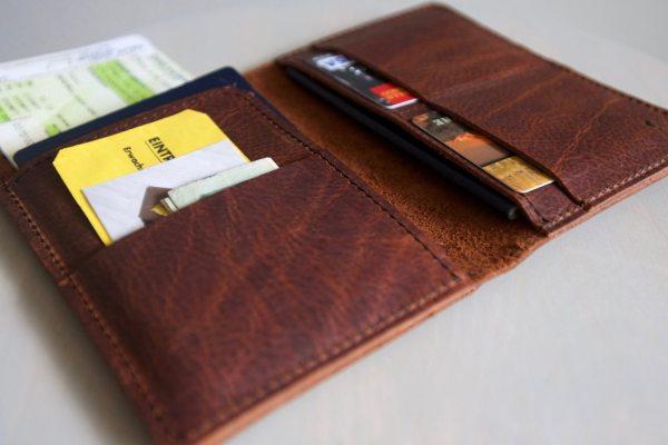 Prague Double Passport Case And Travel Document Holder