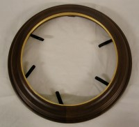 Decorative Wooden Plate Frames Gold-rimmed The Richfield