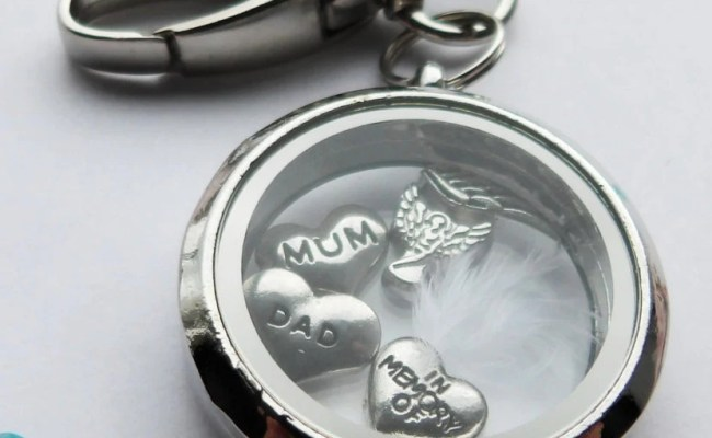 Keychain Sympathy Gift To Remember A Loved One Personalized