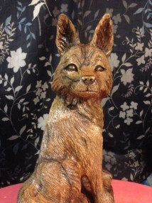 Fox chainsaw carving easy year of clean water