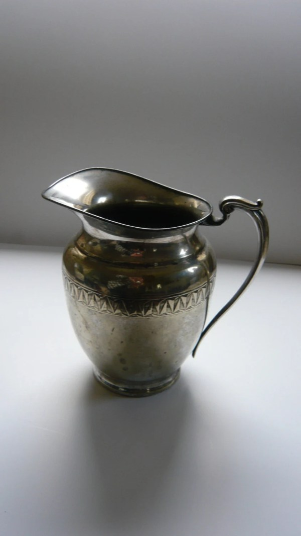 Vintage Silverplate Water Pitcher Farber Brothers Silvercraft