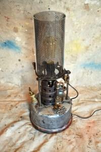 Industrial Lamp Repurposed Plumbers Furnace