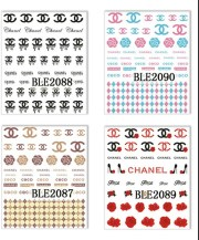set of 11 sheets chanel inspired