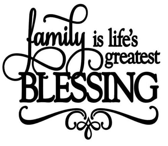 Download Items similar to Family, Life's, Greatest, Blessing, Vinyl ...