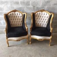 Baroque Tufted Settee Furniture Italian Antique Sofa