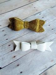 bow headband glitter foam material