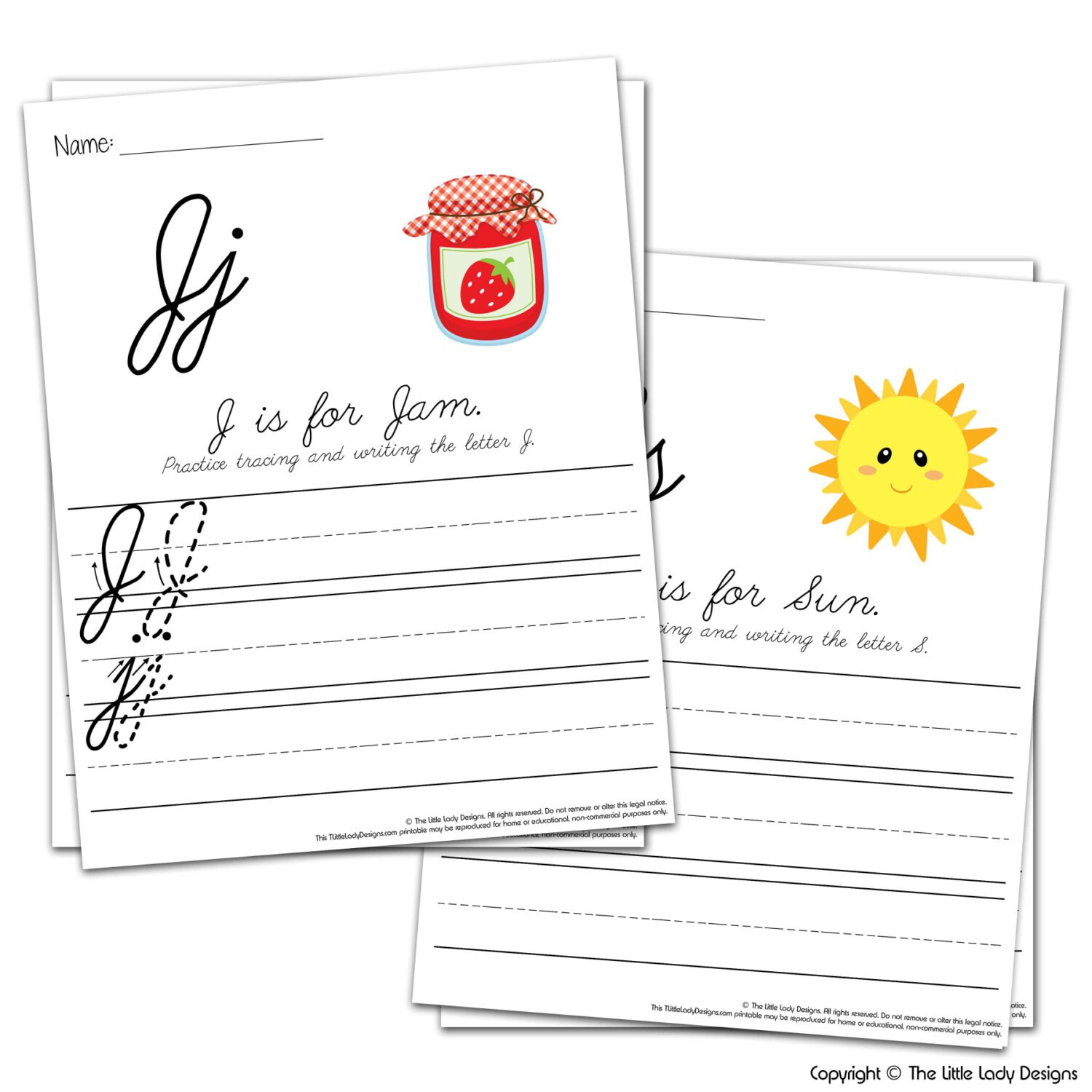 Letter Amp Writing Practice Book Cursive