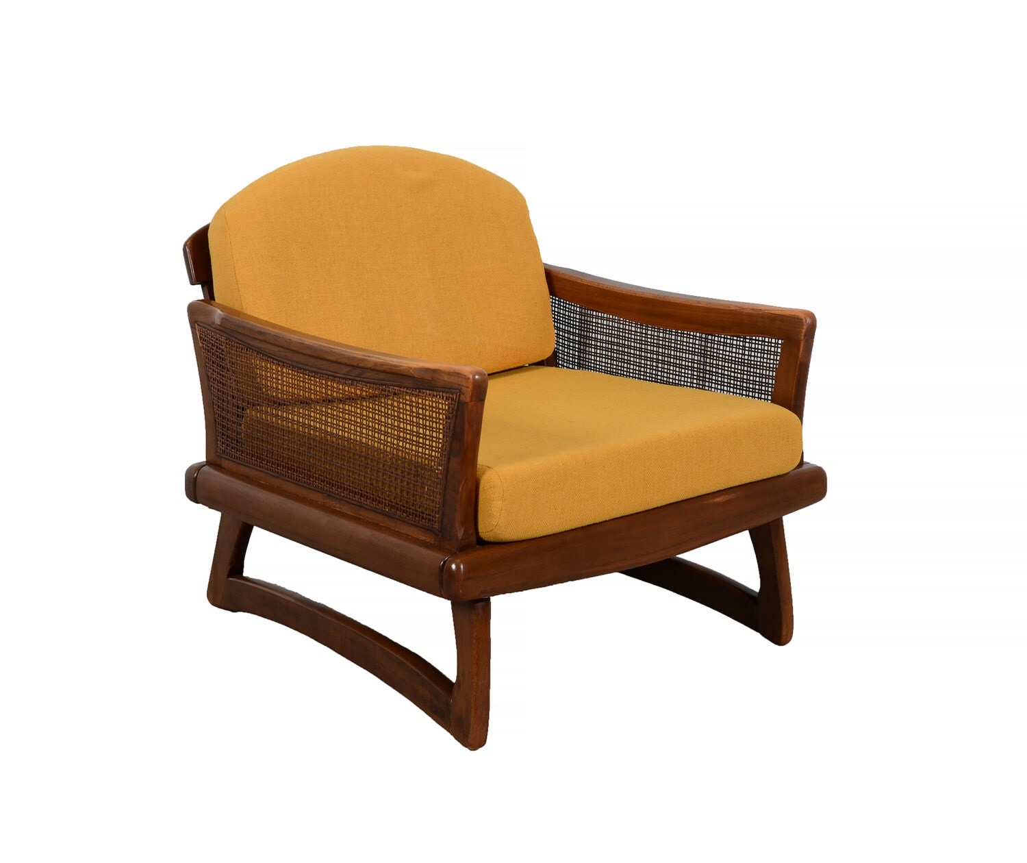 adrian pearsall lounge chair media chairs home theater in walnut mid century modern