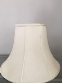 Cream Lamp Shades. Silk high quality