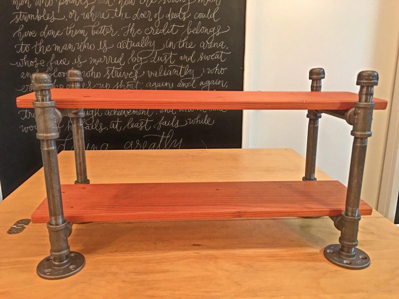 chair steel bracket office in chennai iron pipe desk shelf industrial by masonkreationsetsy