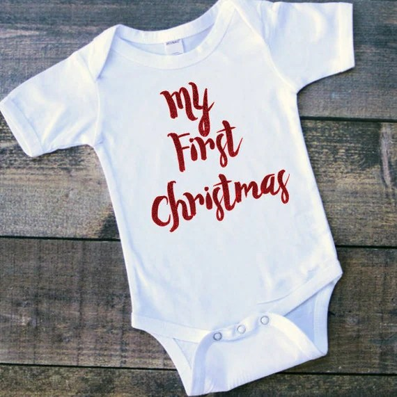 My first ChristmasChristmas boy Onesie Baby boy by