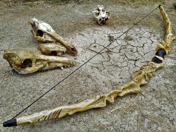 Inspired In Dragon Bone Dismountable Bow Larp Cosplay