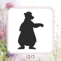 Jungle Book Stencil or Wall Decal from StencilitToday on ...