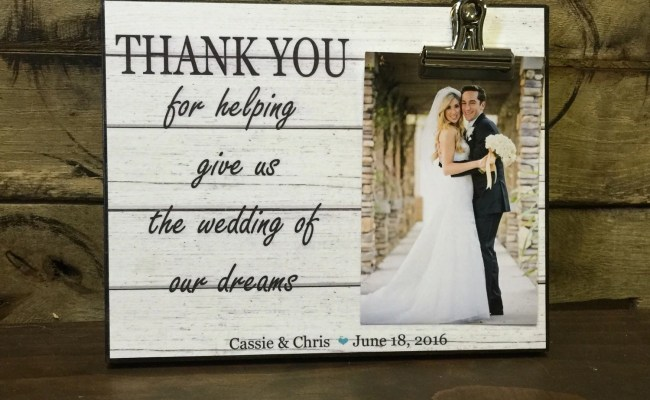 Wedding Officiant Gift Wedding Gift Thank You For Helping