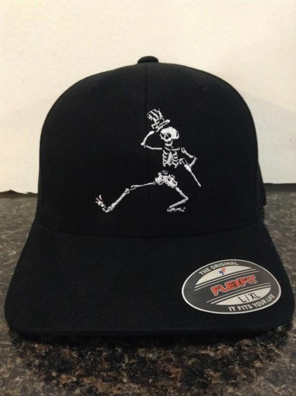 Grateful Dead Dancing Skeleton Hat