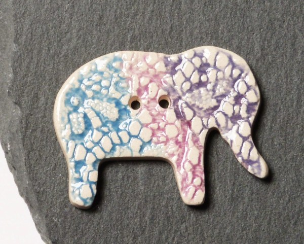 Buttons Elephant Michaels - Year of Clean Water