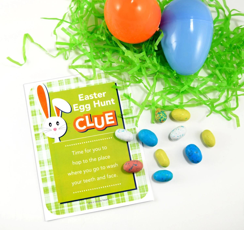 Easter Egg Hunt Scavenger Clue Cards Easter Scavenger Hunt