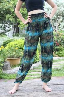 Boho Style Yoga Pants