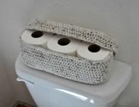 Spare Roll Holder Toilet Tissue Basket Bathroom Decoration