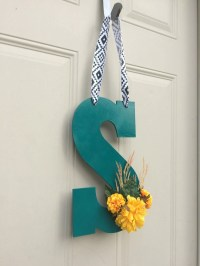 Front Door Decoration Door Hanger Gift Guide Monogrammed