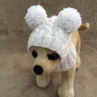 Pet Clothes Apparel Winter Outfit Dog Hat for Small Dogs
