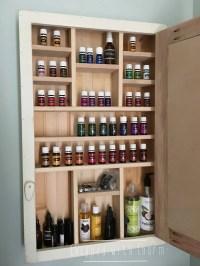 Chalkboard Oil Cabinet Essential Oil Shelf Oil Rack Young