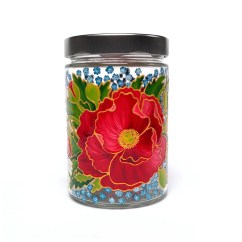 Decorative Glass Jars For Kitchen Chandeliers Home Depot Decor Containers Jar By