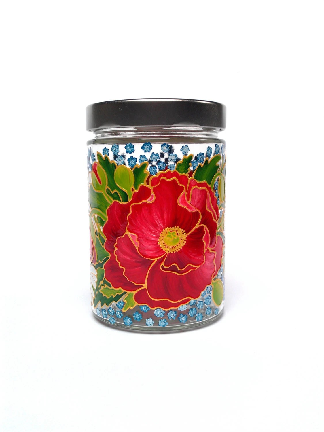 decorative glass jars for kitchen cabinet molding decor containers jar by