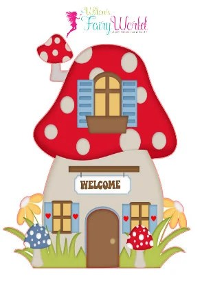Gnome Wall Decals Fairy Wall Stickers by WillowsFairyWorld